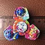 Enlarge toy image: EDC Camouflage Hand Fidget Tri-Spinner Finger Spinner Focus Reduce Stress Tool - school time children learning and fun