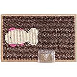 BPS® Rascador Gatos Rascador de Cartón Juguetes Gatos Accesorio Ideal para Afile las Uñas (24X39) BPS-1853