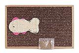 BPS Rascador Gatos Rascador de Cartón Juguetes Gatos Accesorio Ideal para Afile las Uñas (24X39) BPS-1853