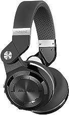 Bluedio T2S (Turbine 2Shooting Brake), cuffie stereo wireless con Bluetooth 4.1,sovraurali, in confezione regalo (nero)