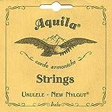 Aquila 5U Aquila sopraan ukelele set, diepte G-stemming 5U, New nylon, Key of C, GCEA, G-snaarlengte 60 cm