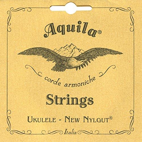 Aquila 10U Aquila Tenor-Ukulele-Satz 10U, New Nylgut, Standard-Stimmung, Key of C, GCEA, Saitenlänge 76 cm