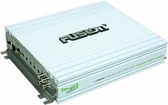 Fusion 2 Kanal Marine Verstärker Weiß Bekleidung
