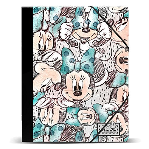 Disney Classic Minnie Drawing-Carpeta Gomas