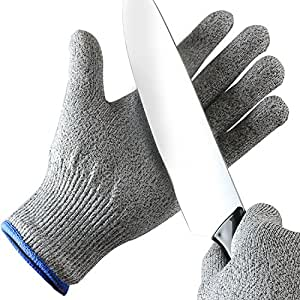 Orblue guanti da cucina resistenti al taglio 1 paio di misura media casa e cucina - Guanti da cucina ...