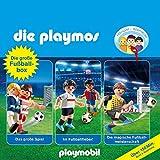 Die große Fußball-Box (Die Playmos - Hörspielbox): Das große Spiel/Im Fußballfieber!/Die magische Fußballmeisterschaft