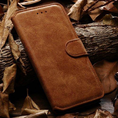 achievess (TM) Rétro Style Étui en cuir pour iPhone 6Plus 14cm Sac pour téléphone portable iPhone de luxe avec fente pour carte et Bill site