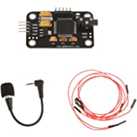 Whitleys Voice Recognition Module Board and Microphone& 4Pin Jumper Wire for Arduino