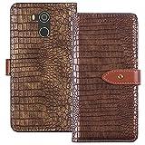 YLYH HandyHülle Für BluBoo D5 Pro 5.5 inch Leder Tasche Cover Flip Brief Schütz Hülle Abdeckung Case Etüi Standfunktion Gold