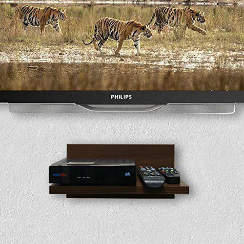 A10 Shop Sigma X30 TV Set Top Box/ DVD Wall Shelf (Walnut)