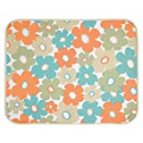 InterDesign iDry X Large Kitchen Floral Mat