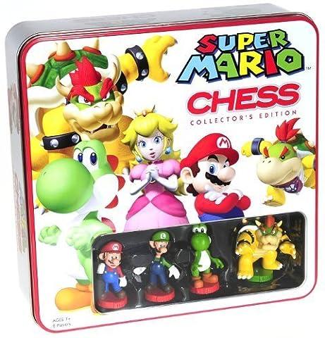 Super Mario Themed Chess Set _ Collector