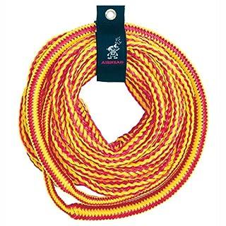 Airhead , aufblasbar Unisex Bungee Tube Abschleppseil, rot/gelb
