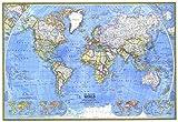 Reproduktion eines Poster Präsentation–Weltkarte–Die Politische Welt (1975)–61x 81,3cm Poster Prints Online kaufen