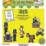 Playtime Felts Humpty Dumpty Nursery Rhyme Felt Figures