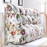 LJHA Kissen halten Kissen lumbale Kissen Sofa gepolsterte Rückenlehne große Taille Kissen im Bett (Farbe : D, größe : 150cm)