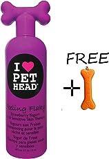 Goofy Tails-Pet Head Feeling Flaky Dry and Sensitive Shampoo, 475 ml with Key Chain