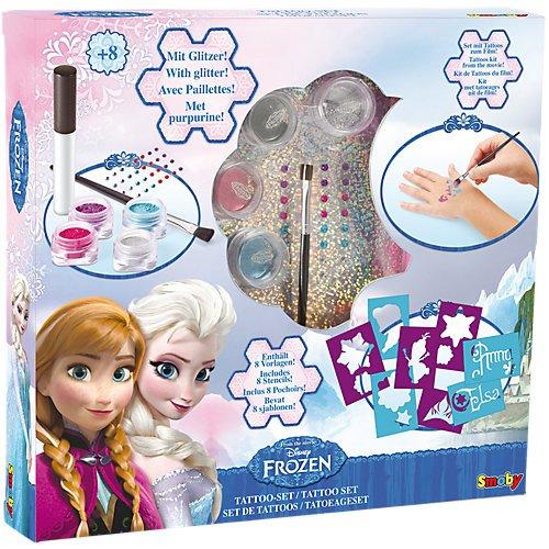 Disney Frozen Tattoo - Set mit Glitter Die ()