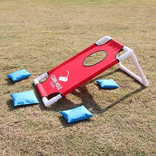 Spiel Set Faltbare Kinder Eltern Werfen Cornhole Spielbrett Set Mit 8 Sitzsäcken Werfen Sitzsack Spiel Set Spielzeug Balight ()