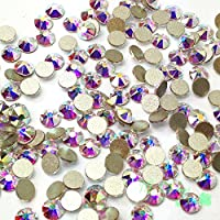 Crystal AB (001 AB) Swarovski 2058 Xilion/NEW 2088 Xirius nail art 16ss Flat backs Rhinestones 4mm ss16 from Mychobos (Crystal-Wholesale)**
