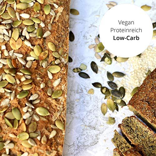 Fitness BROTBACKMISCHUNG (565g) von eat Performance   Bio   VEGAN & Paleo   ohne Zuckerzusatz   glutenfrei   laktosefrei   low carb   eiweißreich   superfood   clean eating  