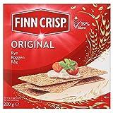 Finn Crisp Original-Rye Thin Knäckebrot (200g) - Packung mit 6