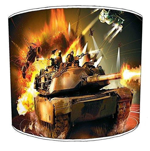 Premier Lighting 20,3cm Deckenleuchte Tanks Military lampshades15, 30,5 cm -