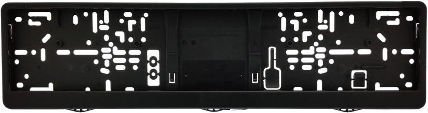 1 KFZ universal Kennzeichenhalter   Kennzeichenrahmen für Kennzeichen der Größe 460x110 mm