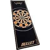 Bullet Hochwertige Turnier Dartmatte 237x80cm in Verschiedenen Farben