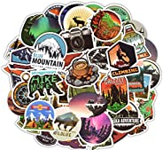 Waterproof Vinyl Stickers for Car Bike Laptop Skateboard Luggage Decal Graffiti Patches Stickers (50 Pcs Outdo