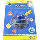 Smart Planet Fietsbel politie sirene bike fun politiesirene grappige kinderfietsbel voor het fietsstuur
