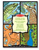 Melissa & Doug Stained Glass Colouring Pad Animals