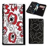 Strass Book Style Flip Cover Case Custodia Rigida foto Motiv Custodia per Huawei Ascend Y330-selezione Flip SU1Design selezione