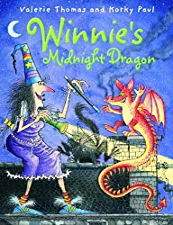 Winnie's Midnight Dragon (paperback and CD)