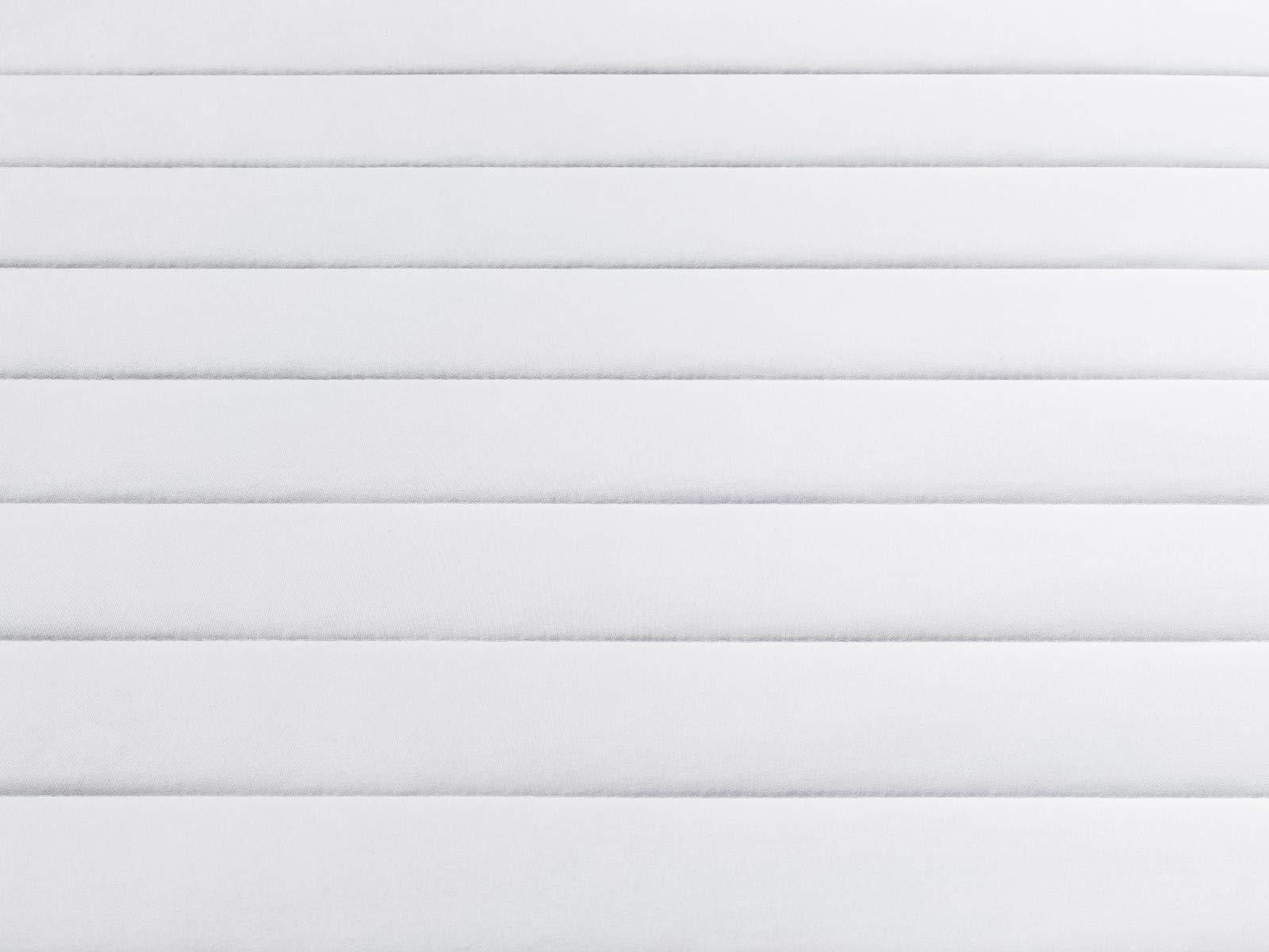 Traumnacht Basic 2 in 1 Duo Kaltschaummatratze, Härtegrad 2 und 3, 80 x 200 cm, Höhe 13 cm, weiß