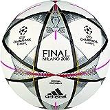 adidas Fußball Finale Milano Offizieller, White/Black/Silver Met., Gr. 5, AC5487