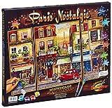 Noris Spiele Schipper 609260626 Malen nach Zahlen Paris Nostalgie (Triptychon), 50 x 80 cm