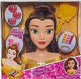 Jakks Pacific 87375 - Disney Princess Belle Styling Head - Disney Princess Hairstyling Toy
