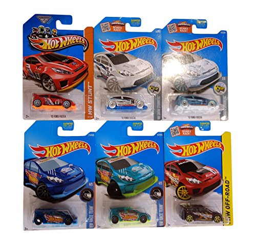 Hot Wheels Pack Regalo Original 6 '12 Ford Fiesta (Hot Wheels Original)