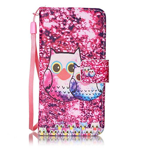 BoxTii Apple iPod Touch 5th / 6th Generation Case   Free Tempered Glass Screen Protector, BoxTii® Elegant Leather Wallet Case with Back Cover for Apple iPod Touch 5th / 6th Generation, Colorful Pattern Desig