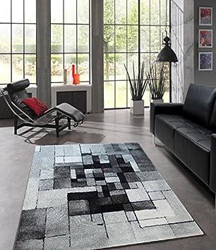 teppich designer wohnzimmer teppich modern trend abstrakt ... - Designer Wohnzimmer Schwarz