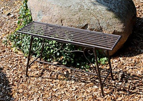 Gartenbank aus Metall - 3