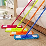 EVELYN LIVING Extendable Microfibre Mop Cleaner Sweeper Wooden Laminate Tile Floor Wet Dry