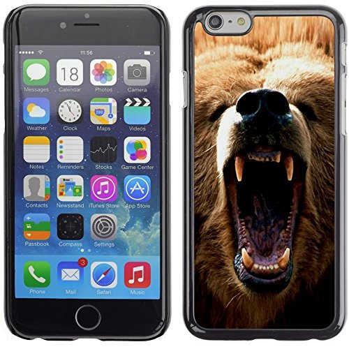 [ For APPLE IPHONE 6 PLUS / 6S PLUS (5.5 IN.) ][ Xtreme-Cover ] [ Hart Rückseite Schutzhülle Case ] - Majestic King Of The Jungle Lion - Lion-iphone Fall 6 King
