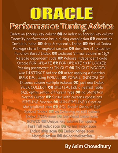 oracle-performance-tuning-advice-english-edition