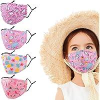 Bambini Lavabili Colorate Le Tessuto Lavabile Inter Stoffa Cotone Bambina Riutilizzabili per di Bocca Disgnate Anti…