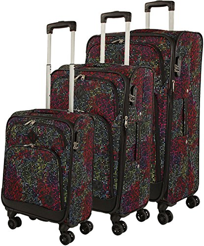 Franky Travel 4-Rad Trolleyset 3tlg. space dots