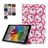 LG GPad 3 8.0 Tablet Funda Carcasa,PU Cuero Piel Smart Case Flip Cover Carcasa para LG G Pad 3 8.0...