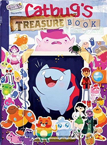 Catbug's Treasure Book (Bravest Warriors) by Perfect Square (Corporate Author) (19-Aug-2014) Hardcover