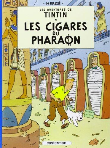 Les aventures de Tintin : Les Cigares du pharaon par Hergé